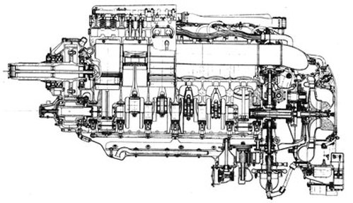rolls-royce v-12 merlin ii