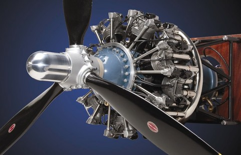 Scale Radial Engines